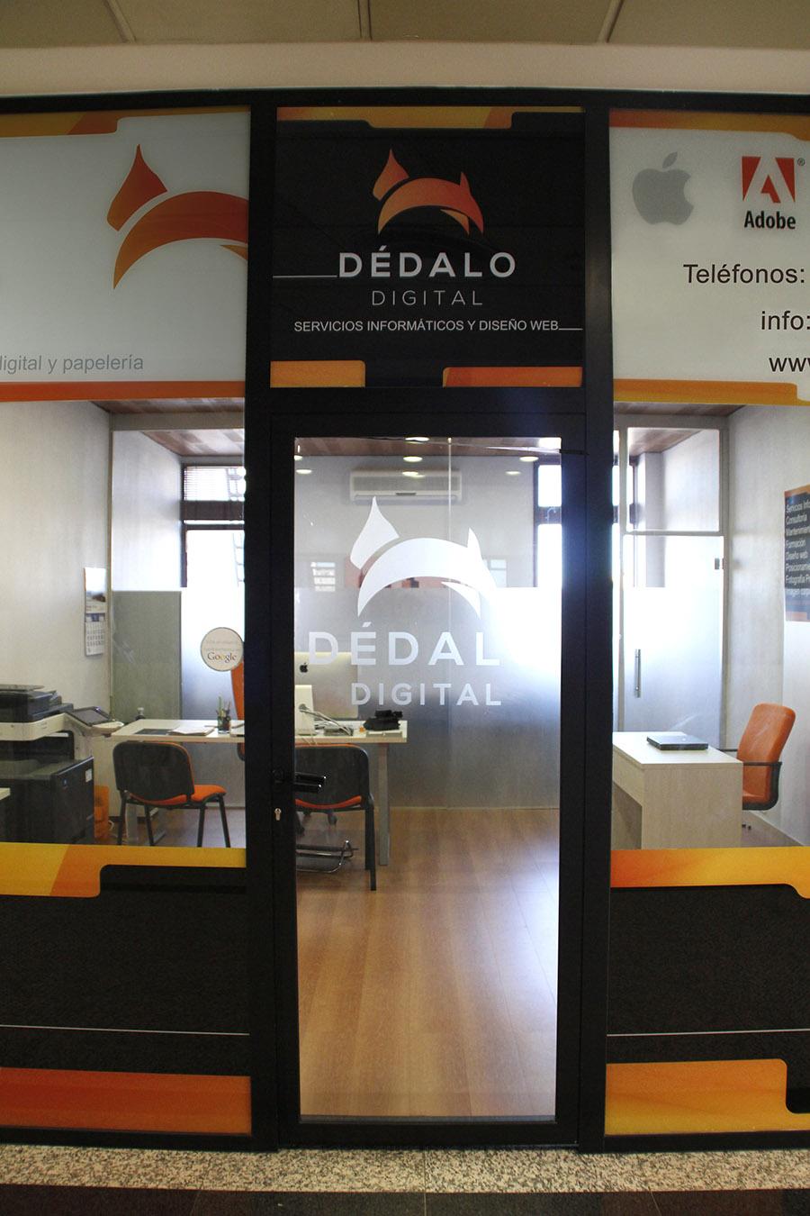 Diseño web, servicios informáticos, imagen corporativa y formación en Rivas Vaciamadrid, Centro Comercial Covibar 2. Dedalo Digital