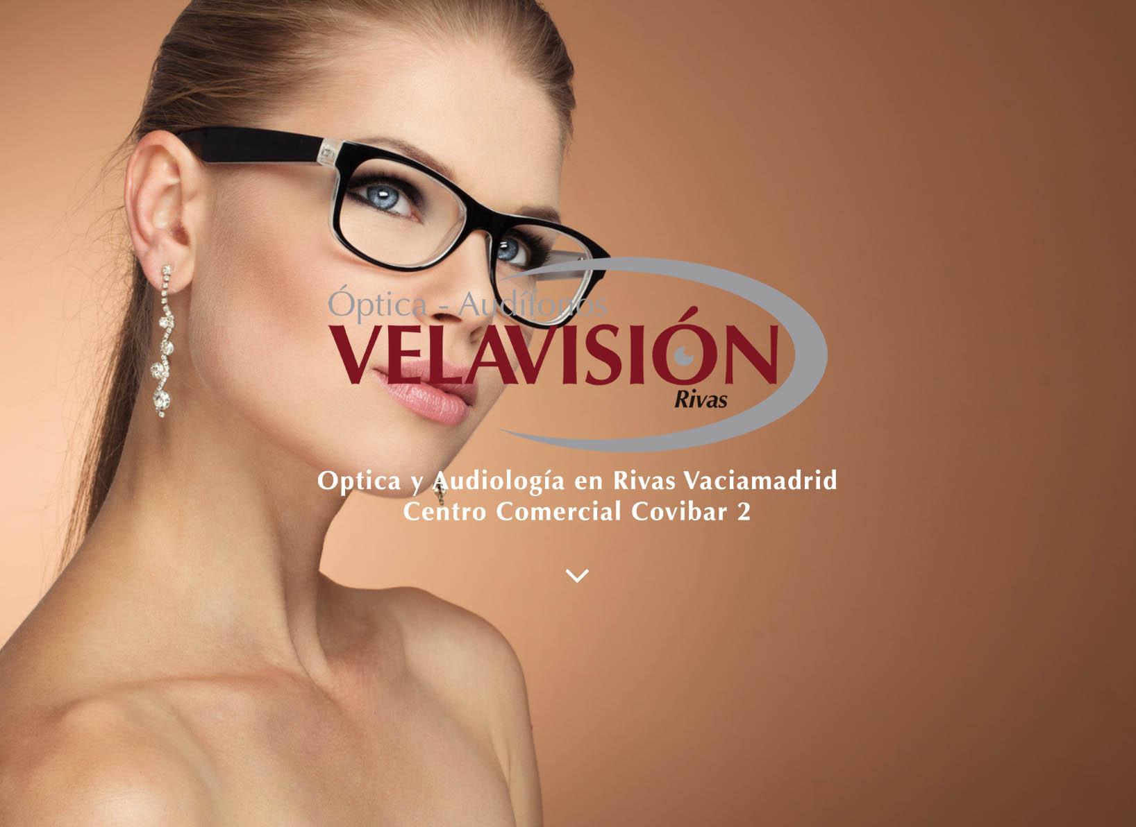 Diseño web para Optica Velavisión, realizado por Dedalo Digital