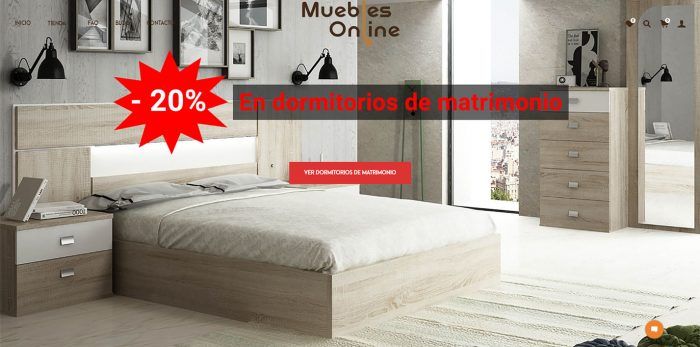 Página Principal Muebles Online Stock (Madrid)