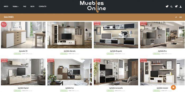 Salones de Muebles Online Stock (Madrid)