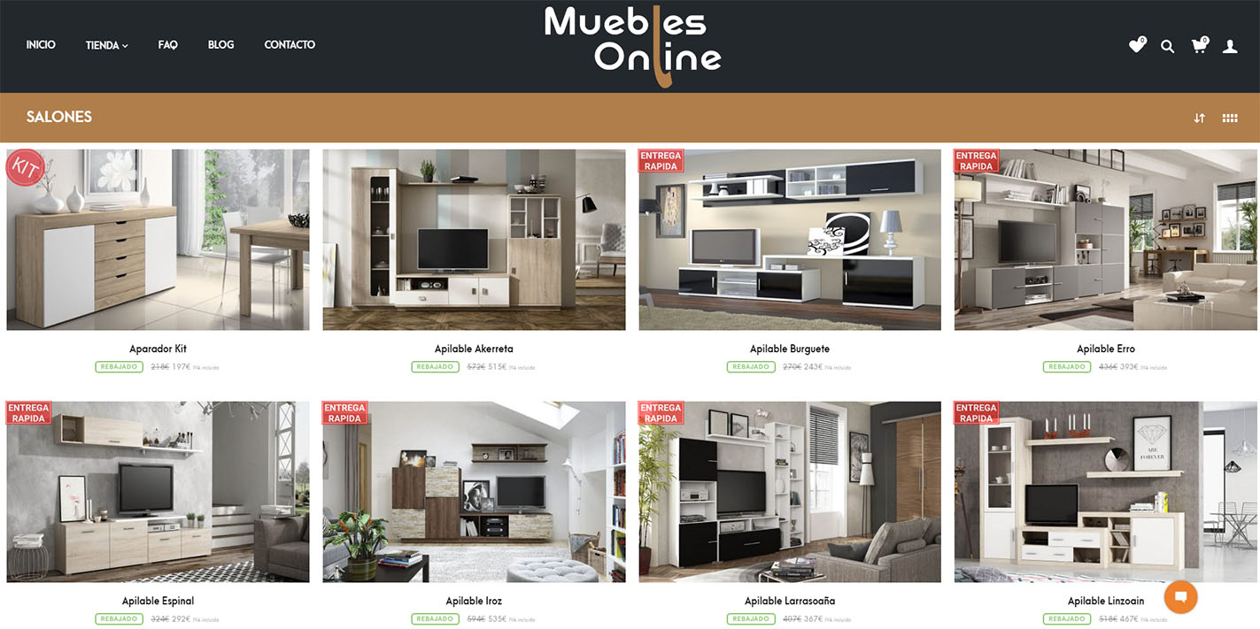 Muebles online d dalo digital for Muebles baratisimos online