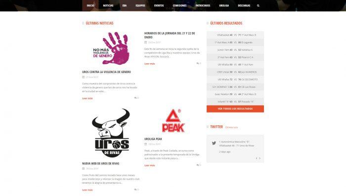 Blog de noticias deportivas del equipo de baloncesto Uros de Rivas