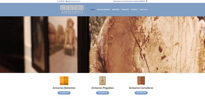 Centro Armario, empresa especializada en muebles a medida para espacios pequeños