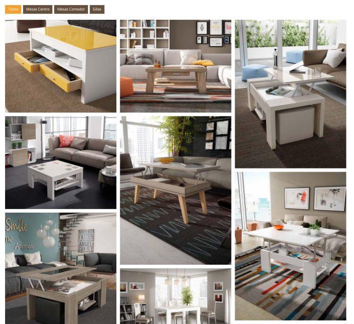 Mercado del Mueble, tienda especializada en decoración de interiores. Diseño Web por Dédalo Digital